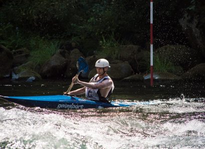 Racing on the Clackamas River, OR